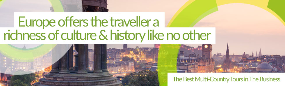 Experience Europe with Trafalgar guided tours